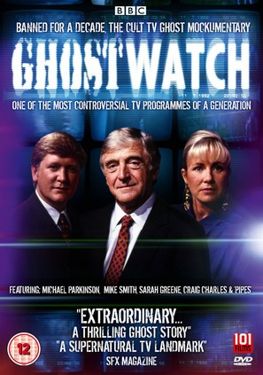 Ghostwatch - British DVD movie cover (thumbnail)