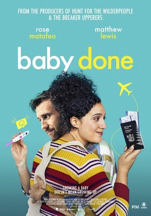 Baby Done - New Zealand Movie Poster (thumbnail)