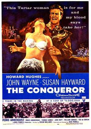 The Conqueror - Movie Poster (thumbnail)