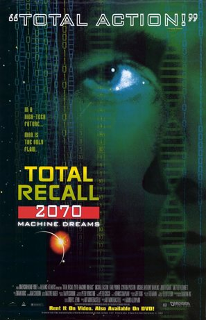 """Total Recall 2070"" - Video release movie poster (thumbnail)"