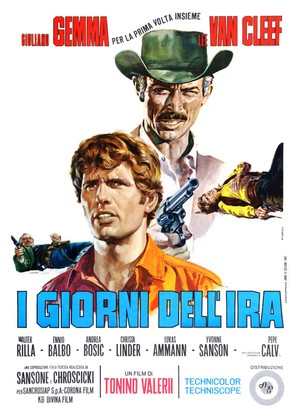I giorni dell'ira - Italian Movie Poster (thumbnail)