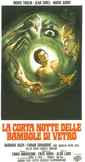 La corta notte delle bambole di vetro - Italian Movie Poster (thumbnail)