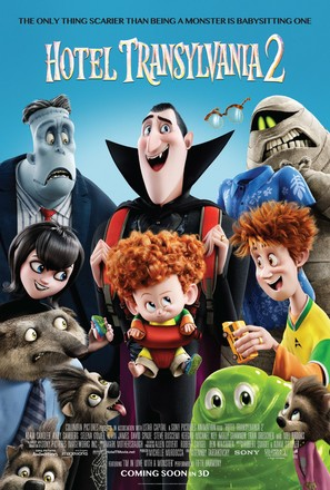 Hotel Transylvania 2 - Movie Poster (thumbnail)