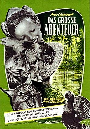 Stora äventyret, Det - German Movie Poster (thumbnail)