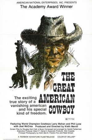 The Great American Cowboy - Movie Poster (thumbnail)