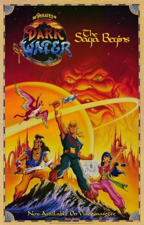 """""""The Pirates of Dark Water"""" - Video release movie poster (thumbnail)"""