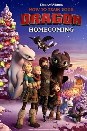 How to Train Your Dragon Homecoming - Movie Poster (thumbnail)