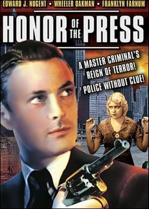 The Honor of the Press - DVD movie cover (thumbnail)