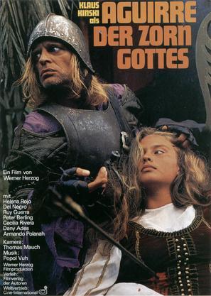 Aguirre, der Zorn Gottes - German Movie Poster (thumbnail)