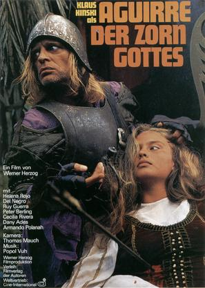 Aguirre, der Zorn Gottes - German Movie Poster (thumbnail)