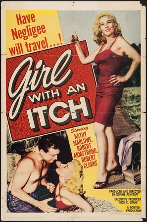 Girl with an Itch - Movie Poster (thumbnail)