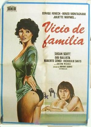 Il vizio di famiglia - Italian Movie Poster (thumbnail)