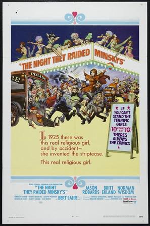 The Night They Raided Minsky's - Movie Poster (thumbnail)