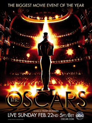 The 81st Annual Academy Awards - Movie Poster (thumbnail)