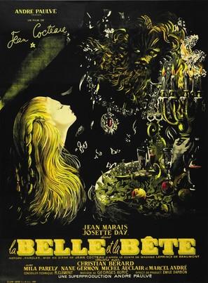 La belle et la bête - French Theatrical poster (thumbnail)