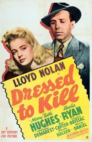 Dressed to Kill - Movie Poster (thumbnail)
