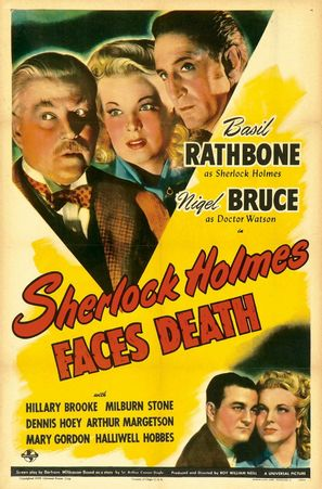 Sherlock Holmes Faces Death - Movie Poster (thumbnail)