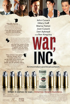 War, Inc. - Movie Poster (thumbnail)