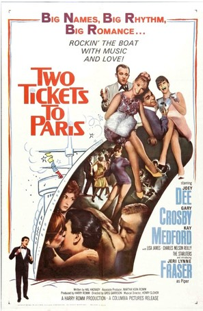 Two Tickets to Paris - Movie Poster (thumbnail)