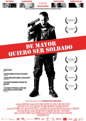 De mayor quiero ser soldado - Spanish Movie Poster (thumbnail)