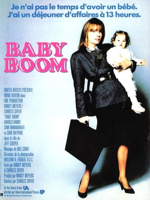 Baby Boom - French Movie Poster (thumbnail)