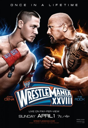 WWE WrestleMania XXVIII - Movie Poster (thumbnail)