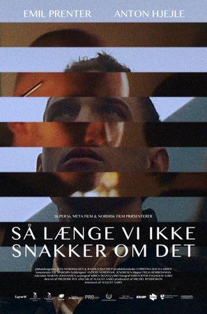 Så længe vi ikke snakker om det - Danish Movie Poster (thumbnail)