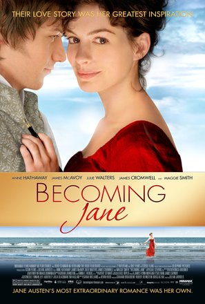 Becoming Jane - Movie Poster (thumbnail)