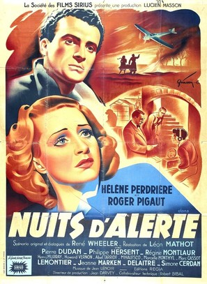 Nuits d'alerte - French Movie Poster (thumbnail)