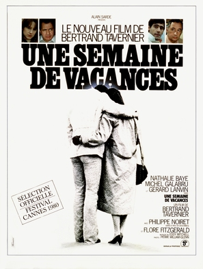 Une semaine de vacances - French Movie Poster (thumbnail)