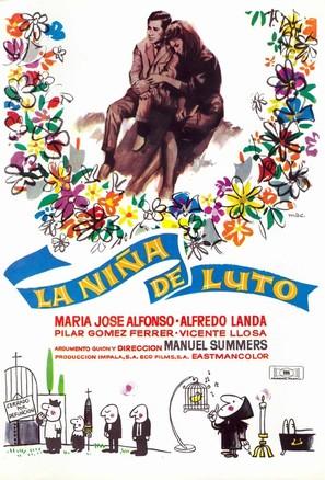 Niña de luto, La - Spanish Movie Poster (thumbnail)