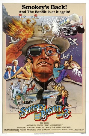 Smokey and the Bandit Part 3 - Movie Poster (thumbnail)