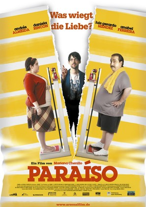 Paraíso - German Movie Poster (thumbnail)