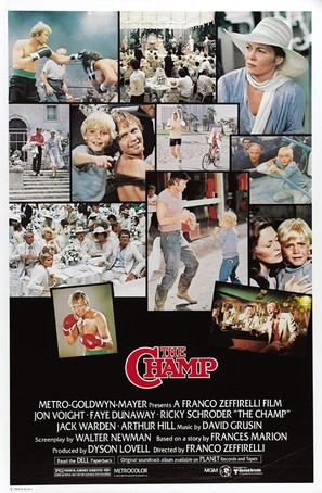 The Champ - Theatrical poster (thumbnail)