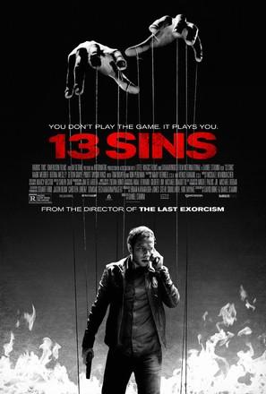 13 Sins - Movie Poster (thumbnail)