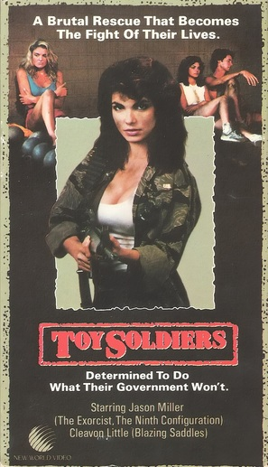 Toy Soldiers - VHS cover (thumbnail)