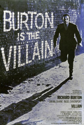 Villain - British Movie Poster (thumbnail)