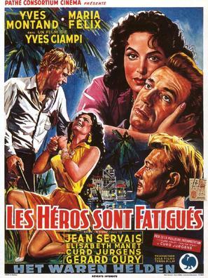 Les héros sont fatigués - Belgian Movie Poster (thumbnail)