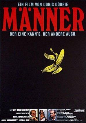 Männer... - German Movie Poster (thumbnail)