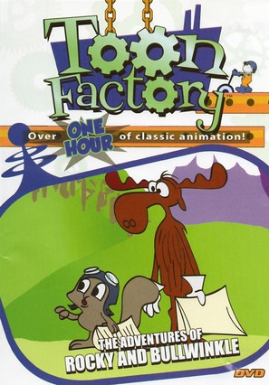 """""""The Bullwinkle Show"""" - DVD movie cover (thumbnail)"""
