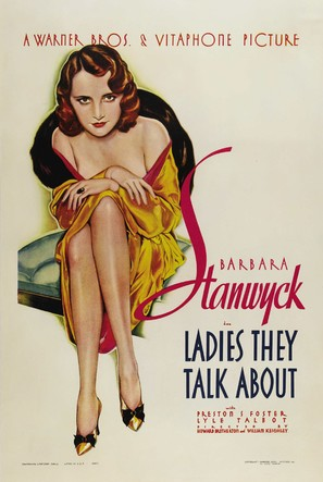 Ladies They Talk About - Theatrical poster (thumbnail)
