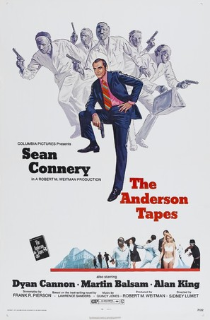 The Anderson Tapes - Movie Poster (thumbnail)