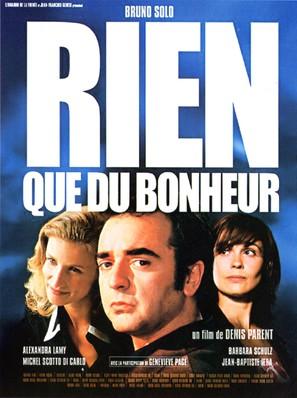 Rien que du bonheur - French Movie Poster (thumbnail)