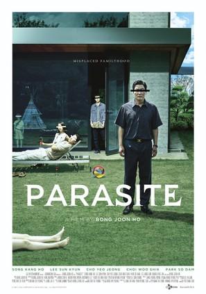 Parasite - South Korean Movie Poster (thumbnail)