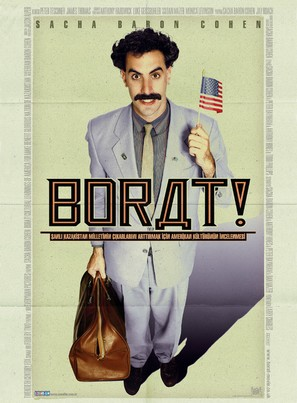 Borat: Cultural Learnings of America for Make Benefit Glorious Nation of Kazakhstan - British Movie Poster (thumbnail)