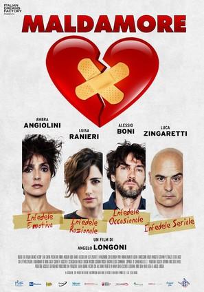 Maldamore - Italian Movie Poster (thumbnail)