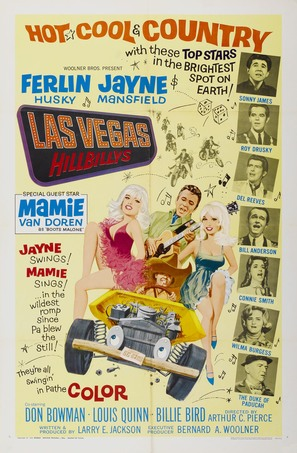 The Las Vegas Hillbillys - Movie Poster (thumbnail)