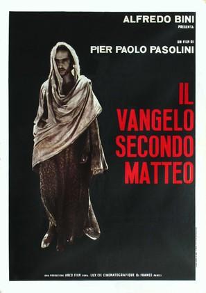 Il vangelo secondo Matteo - Italian Movie Poster (thumbnail)