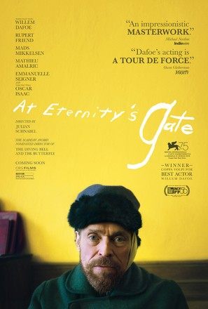 At Eternity's Gate - Movie Poster (thumbnail)