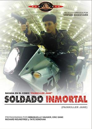 Painkiller Jane - Spanish Movie Cover (thumbnail)